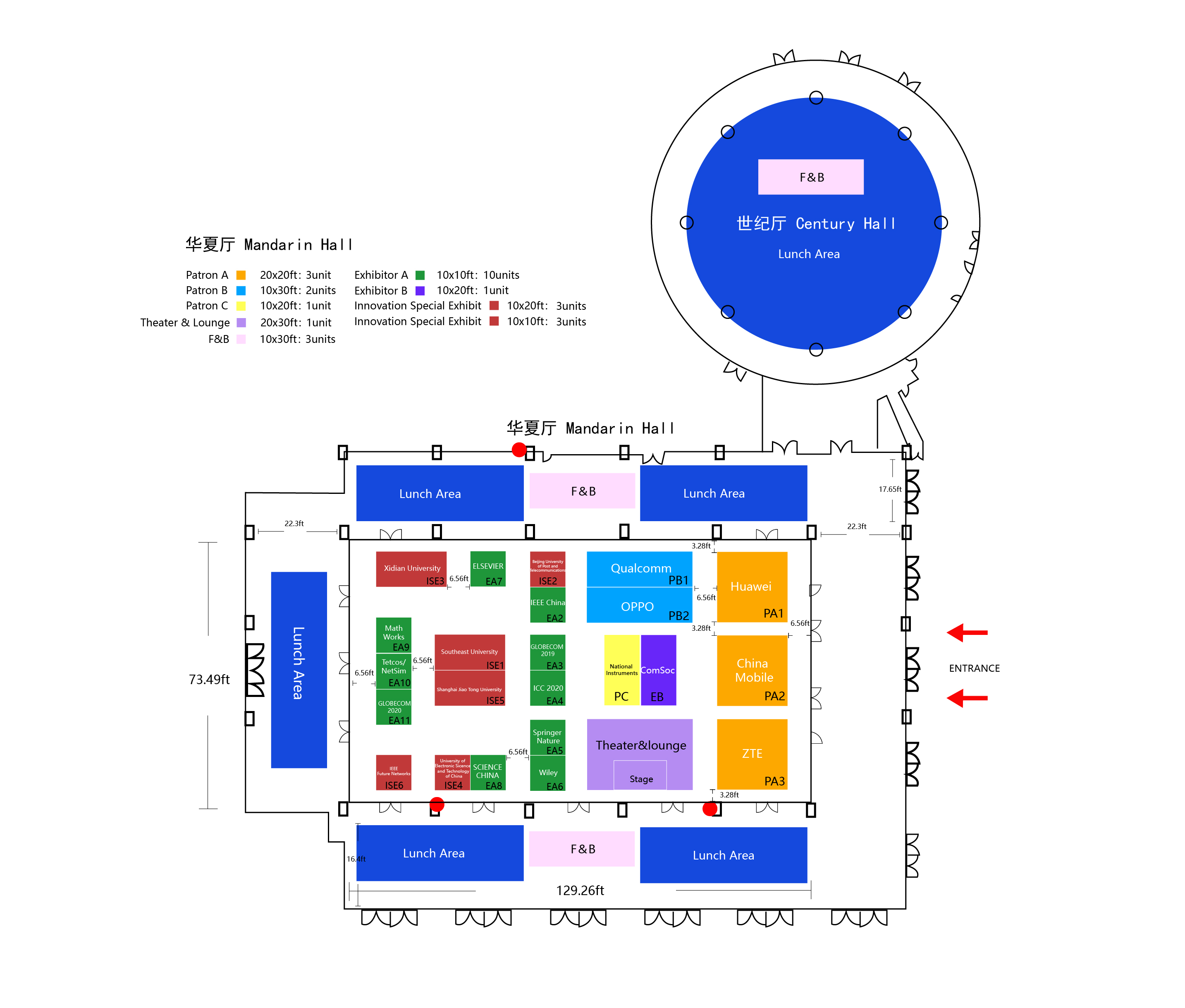 Exhibit Floor Plan